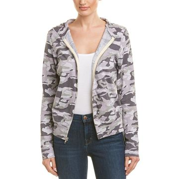 Monrow Womens Camo Jacket