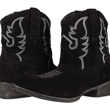 Roper Dusty II (Black) Women's Shoes