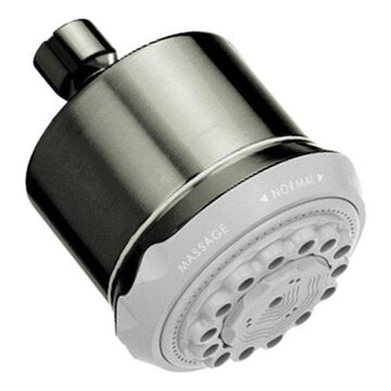 Hansgrohe Clubmaster Brushed Nickel Showerhead