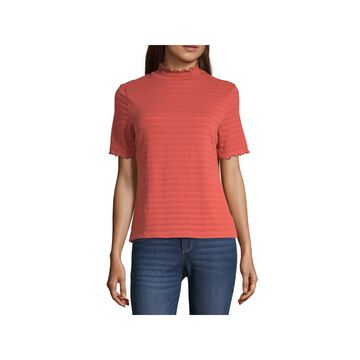 a.n.a Mock Neck Top- Tall