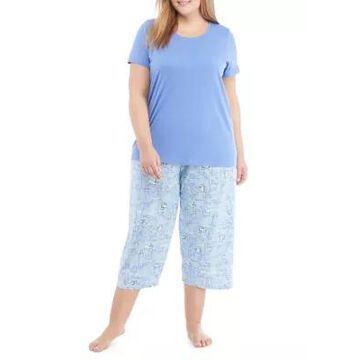Hue Women's Plus Size Play Nice Pajama Set - -