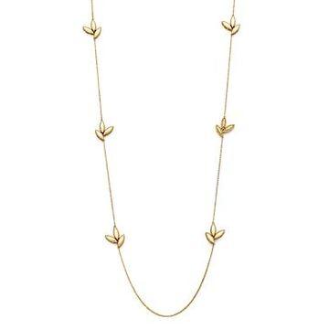 Roberto Coin 18K Yellow Gold Diamond Petals Diamond Necklace, 31 - 100% Exclusive