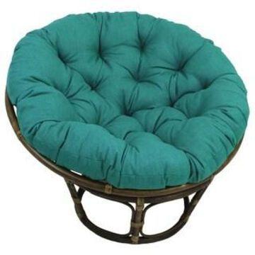 International Caravan Bali 42-inch Papasan Chair with Cushion