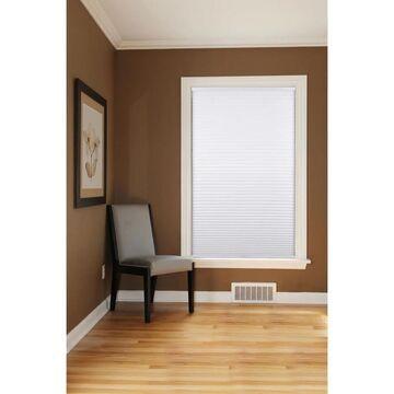 "Arlo Blinds White Room Darkening Cordless Cellular Shades (72""W x 60""H)"