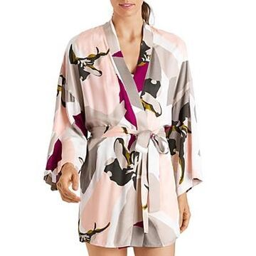 Hanro Phila Printed Kimono Robe