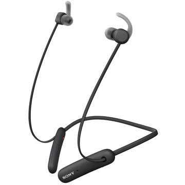 Sony Black Wireless In-Ear Headphones For Sports
