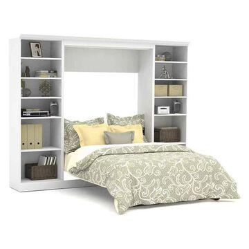 Bestar Versatile By Bestar 109'' Full Wall Bed Kit, White