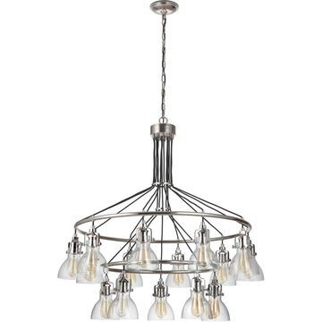 Craftmade 51215-PLN State House Chandelier Polished Nickel