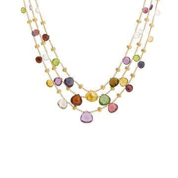 Marco Bicego Paradise 18K Gemstone Necklace