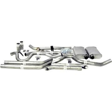 D2289025 Dynomax Exhaust System, made of aluminized steel dynomax thrush