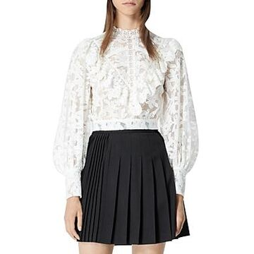 The Kooples Ecru Lace Top