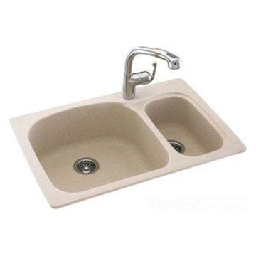 Swanstone KSLS-3322-035 Arctic Granite Drop In Kitchen Sink