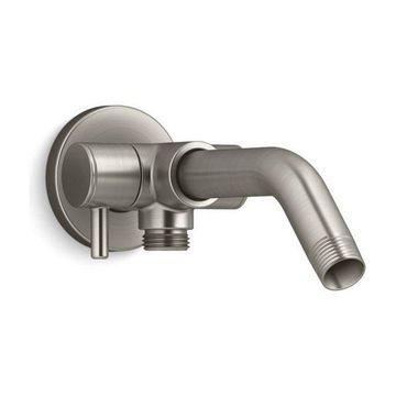 Kohler Shower Arm with 3-Way Diverter, Vibrant Brushed Nickel