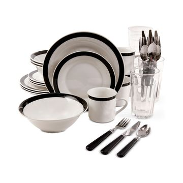 Essex 32-Pc. Dinnerware Set