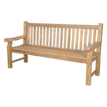 Anderson Teak Patio Lawn Garden Furniture Devonshire 4-Seater Extra Thick Bench
