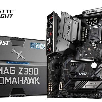MSI MAG Z390 Tomahawk LGA1151 (Intel 8th and 9th Gen) M.2 USB 3.1 Gen 2 DDR4 HDMI DP CFX Dual Gigabi