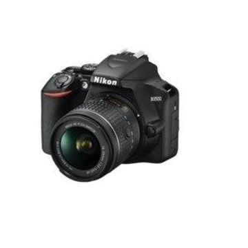 Nikon D3500 - Digital camera - SLR - 24.2 MP - APS-C - 1080p / 60 fps - 3x optical zoom AF-P DX 18-55mm VR and 70-300mm lenses - Bluetooth