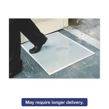 Crown Walk-N-Clean Dirt Grabber Mat 60-Sheet Refill Pad 30 x 24 Gray WCRPLPAD