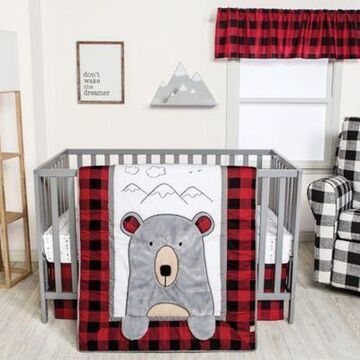 Trend Lab Peek-a-Bear 3-Piece Crib Bedding Set