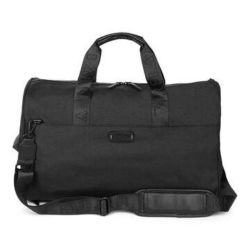 Bugatti Reborn Collection 2-in-1 Hybrid RFID-Blocking Recycled Duffle Bag, Black