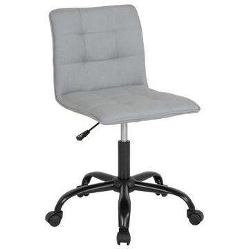 Flash Furniture Swivel Sorrento Chair in Grey