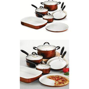 Tramontina 80110/222DS Style Ceramica_01 10 Piece Cookware/Bakeware Set