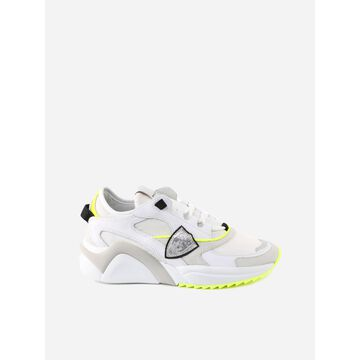 Philippe Model Eze Sneaker In Leather And Fabric