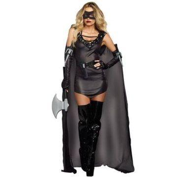 The Assasin Costume Dreamgirl 9873 Black