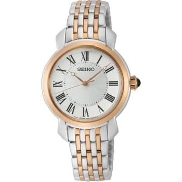 Seiko Women's Essentials Two-Tone Stainless Steel Bracelet Watch 29.2mm