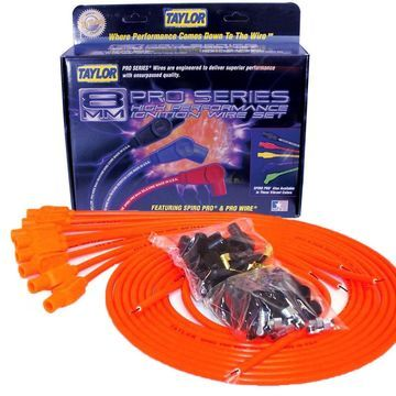 Taylor Cable 78355 8mm Spiro-Pro Ignition Wire Set