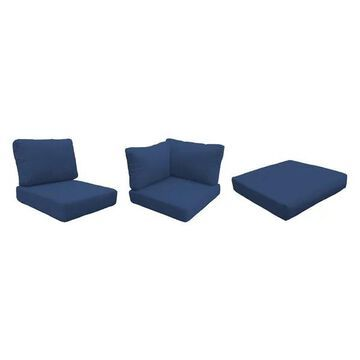 TK Classics High Back Cover Set in Navy for COAST-10b
