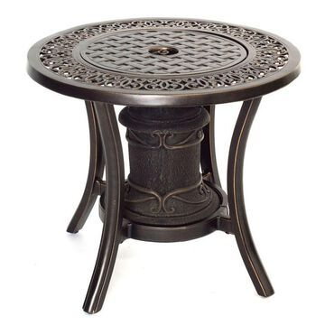 Hanover Traditions Fire Urn Side Table