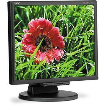 NEC MultiSync E171M-BK 17 inch 1000:1 5ms VGA/DVI LED LCD Monitor w/Speakers (Black) (NEC E171M-BK)