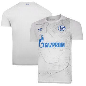Umbro FC Schalke 04 White 2020/21 Away Replica Jersey