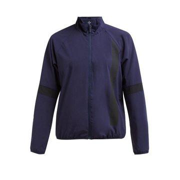 Calvin Klein Performance - Wind Resistant Technical Jacket - Womens - Navy Multi