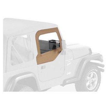 Bestop 53121-37 Jeep Wrangler Upper-Door Skins Set, Spice