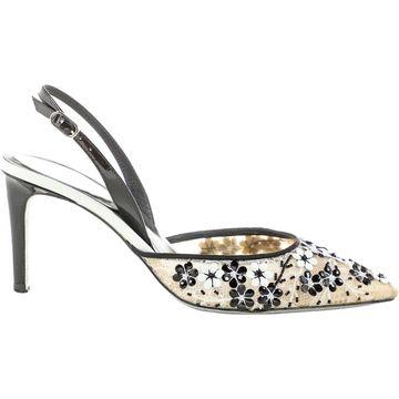 Rene Caovilla Multicolour Leather Heels