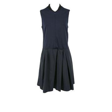 Jil Sander Navy Synthetic Dresses