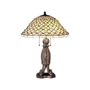 Meyda Tiffany 37781 Diamond & Jewel Table Lamp