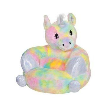 Trend Lab Children's Plush Rainbow Unicorn Character Chair Bedding