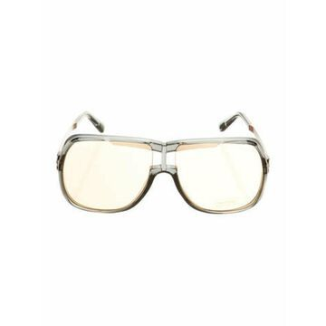 Shield Mirrored Sunglasses Grey