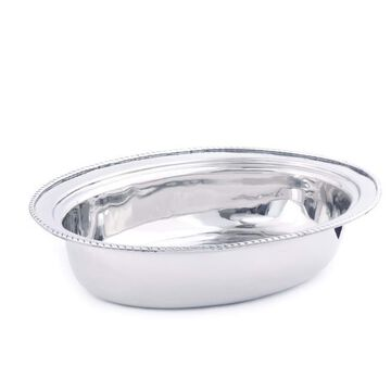 Old Dutch 1-Station Residential Warming Tray Stainless Steel   FP682