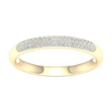 De Couer IGI Certified 1/6ct TDW Diamond Wedding Band