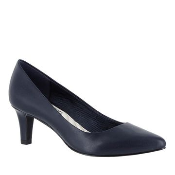 Easy Street Womens Pointe Pointed Toe Classic Pumps