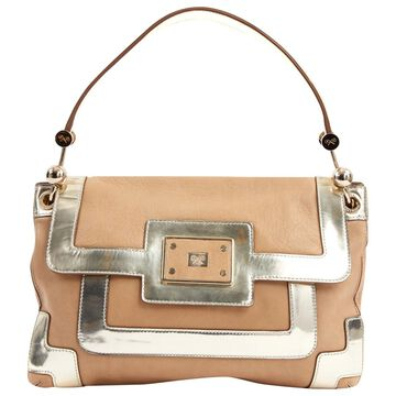 Anya Hindmarch Beige Leather Handbags
