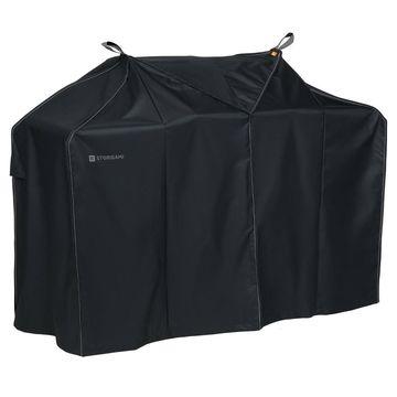 Storigami Easy Fold Medium BBQ Grill Cover Black - Classic Accessories