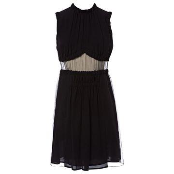 Christopher Kane Black Silk Dresses