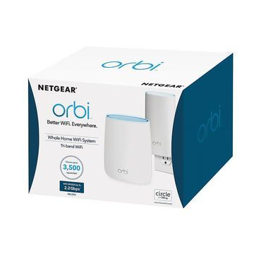 Netgear Orbi AC2200 Tri-Band Wireless Router, RBK20W-100nas