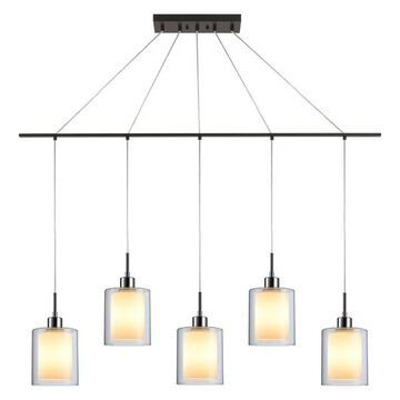 Woodbridge Lighting Alaina 5-Light Linear Pendant