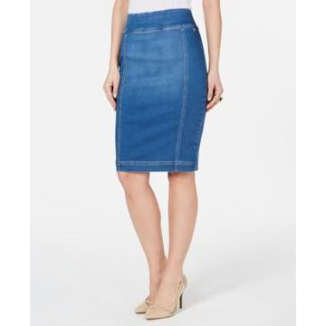Thalia Sodi Denim Pencil Skirt, Created for Macy's